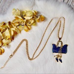 Jewelry - Purse & Heels Necklace